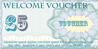 money off beauty salon voucher manchester