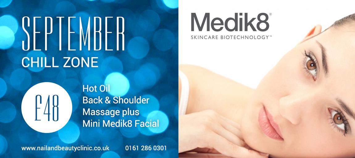Medik8 facial offer cheshire manchester