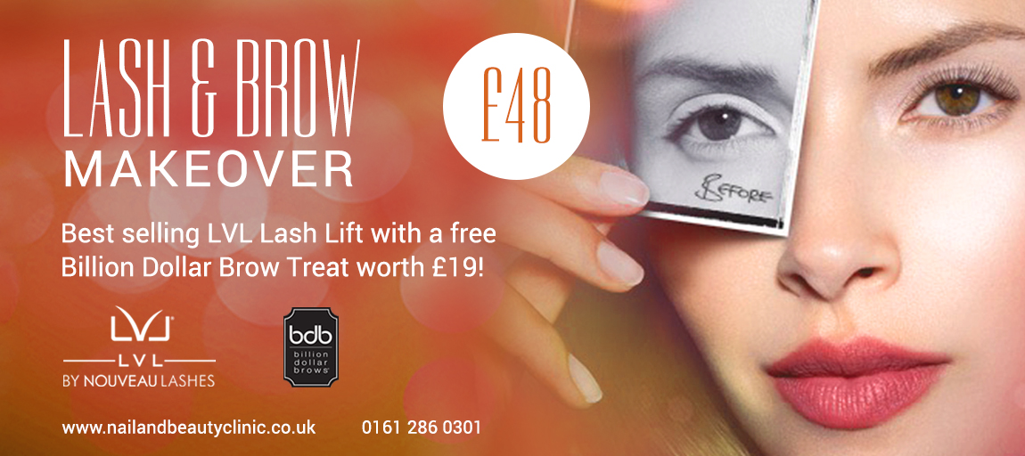 Lashes beauty offer Manchester Cheshire