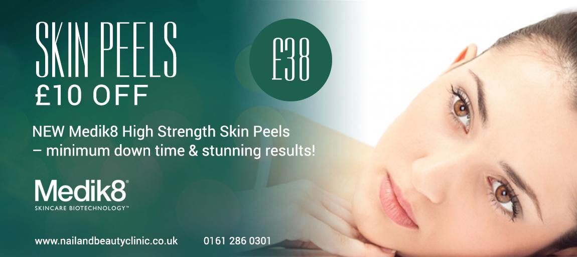 Medik8 skin peel beauty offer Manchester Cheshire