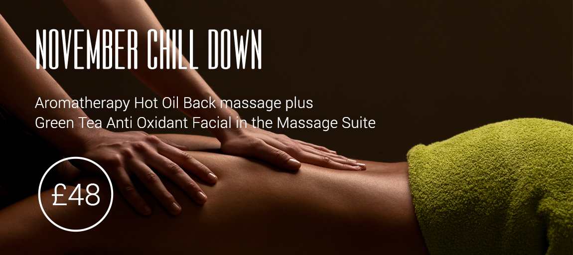 November massage offer cheshire