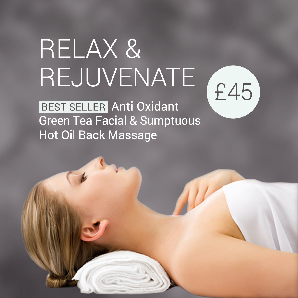 March facial and massage offers