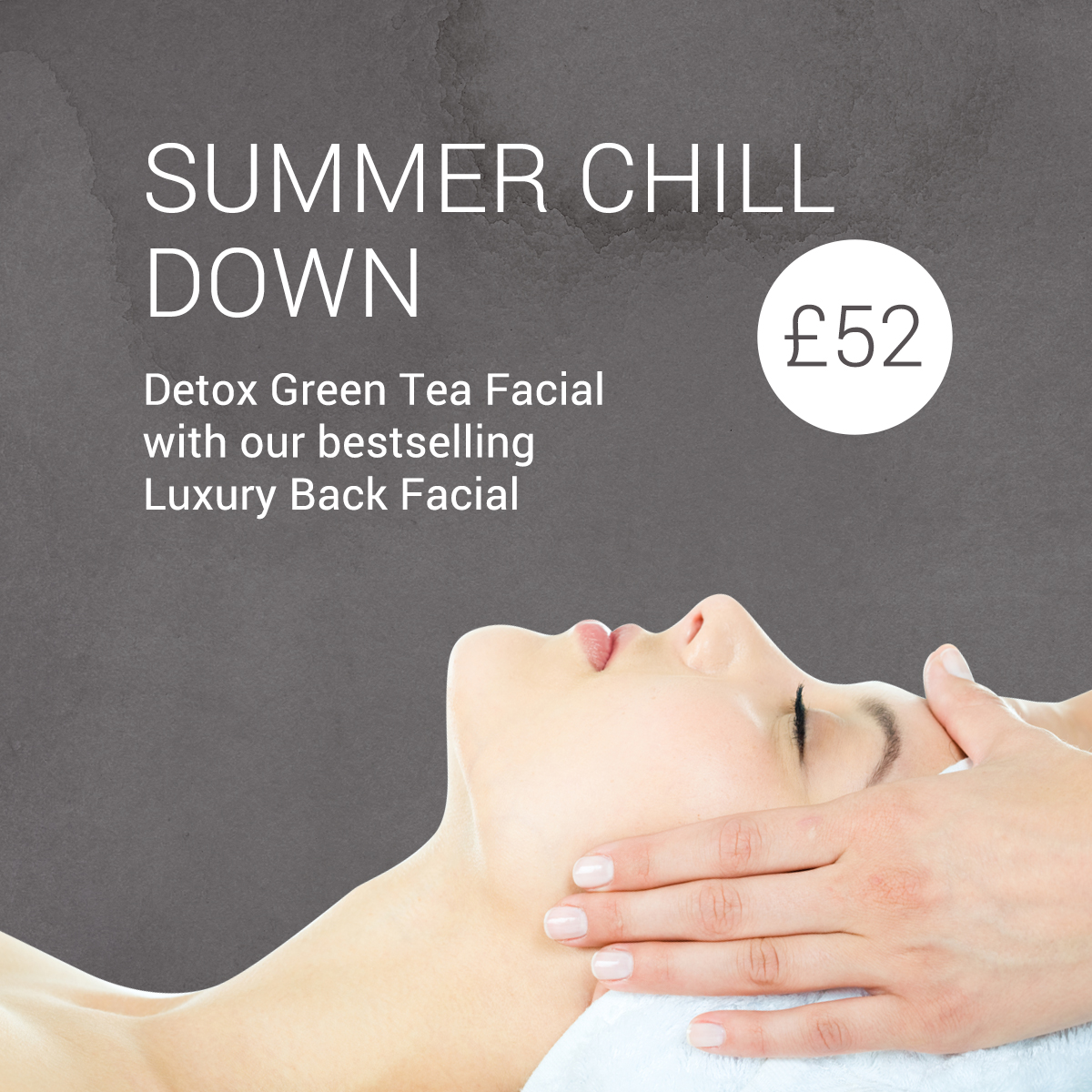 detox green tea facial offer cheshire