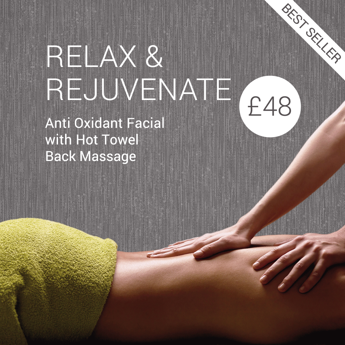 beauty offers cheshire facial hot towel massage